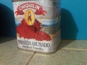 Spanish smoked paprika