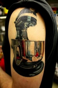 food processor tattoo