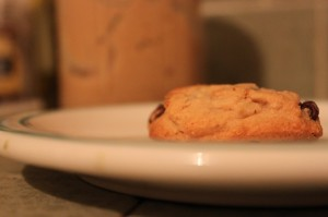cashew nut butter and chocolate chip cookies