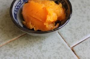butternut squash in a little dish