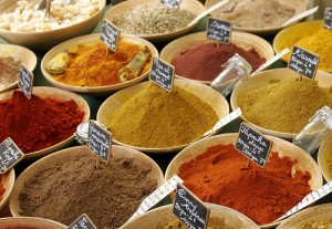 Flickr: Gavin Bell - spices in a French Market