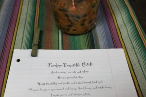 Turkey Chili soup