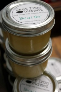 Bacon fat - not just for breakfast anymore