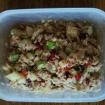 Read I Did it Myself: Make-it-up Tuna Salad with Apples and Cranberries