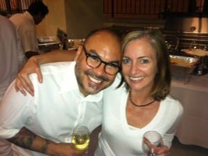 Matt Armendariz and Julie Tilsner