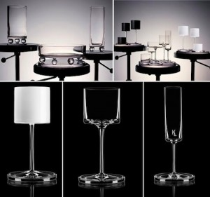 Karl Lagerfeld wine glasses