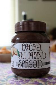 Trader Joe's Cocoa Almond Spread