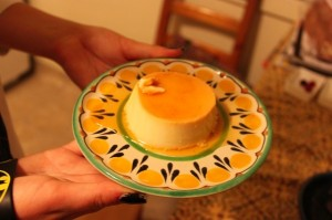 The right way to make flan