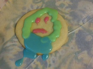 bad sugar cookie