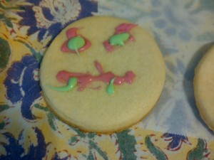 devil sugar cookie