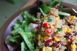 Southwest-style Quinoa salad