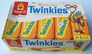 Old Twinkie box from the '70s