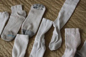 mismatched socks