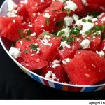 Read A midsummer's night dream: Watermelon and feta salad