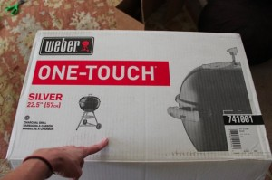 Webster Silver One-Touch Grill