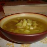 Read Mon Dieu! Soupe a l'ail aux pommes de terre