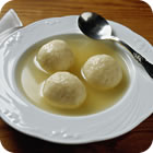 Read For you, a nice matzo ball.