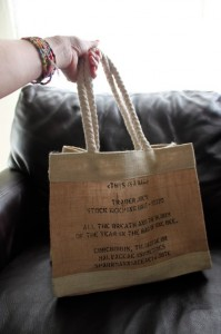 totally cute Trader Joe's bag