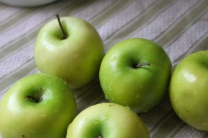 granny Smith apples for apple crisp