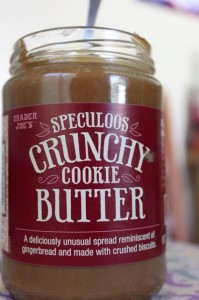 Trader Joe's evil crunchy cookie butter