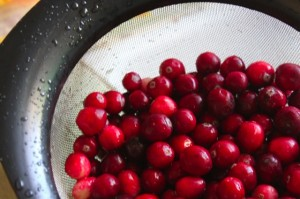 Whole cranberries