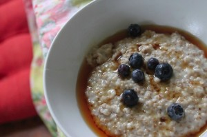 steal cut oatmeal from Whole Grain Mornings
