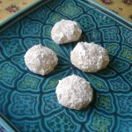 Read Mexican wedding cake cookies with rose water and cardamom