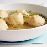 Read Matzo ball soup, and all that schmaltz